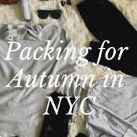 Our Packing List for New York City