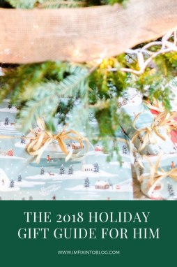 The 2018 Holiday Gift Guide for Him - I'm Fixin' To - @mbg0112