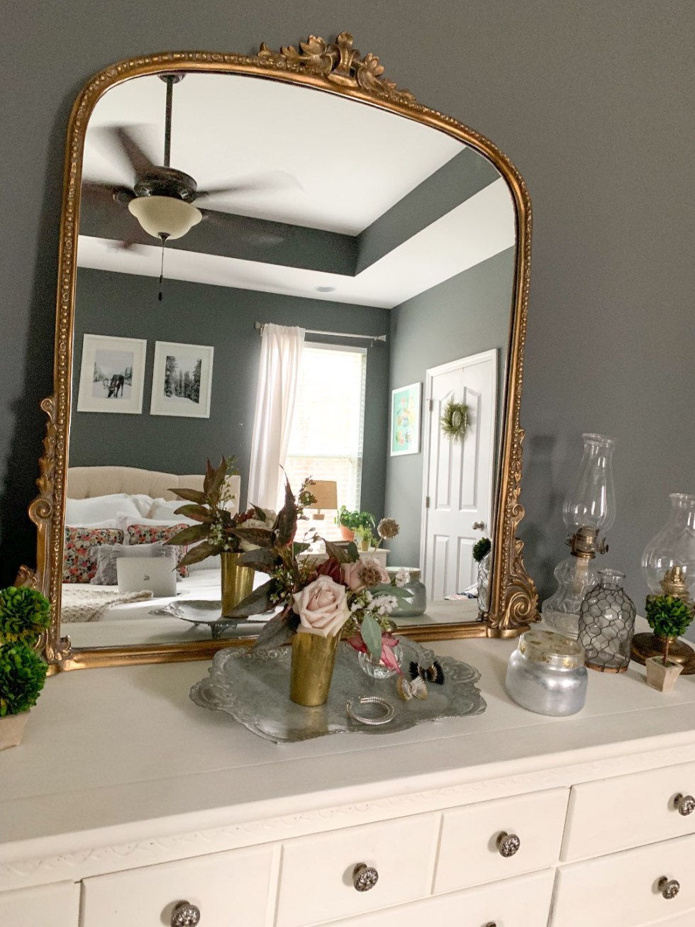 Master Bedroom Decor Ideas featured by top US lifestyle blog, I'm Fixin' To