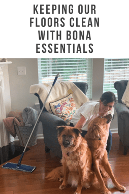 Keeping Our Floors Clean with Bona Essentials - I'm Fixin' To - @mbg0112