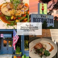 Top 5 Best Destination Restaurants in Eastern NC you Need to Try
