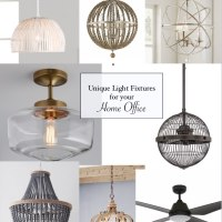 Home Decor Ideas: 8 Unique Home Office Light Fixtures
