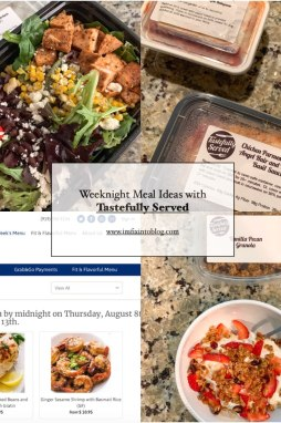 Weeknight Meal Ideas with Tastefully Served - I'm Fixin' To - @mbg0112