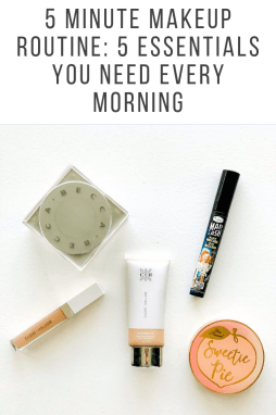 5 Minute Makeup Routine: 5 Essentials you Need Every Morning - I'm Fixin' To - @mbg0112
