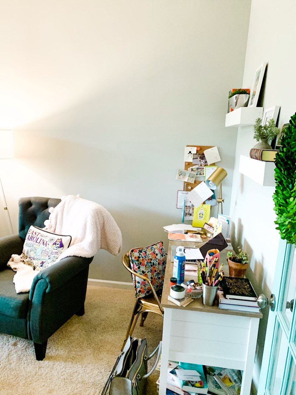 How to Update your Home Office with Home Office Built-Ins featured by top US life and style blog, I'm Fixin' To | How We Updated Our Home Office with Built-Ins: Part 1 - I'm Fixin' To - @mbg0112