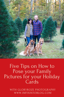 How to Pose for Family Pictures for your Holiday Cards, tips featured on top US life and style blog, I'm Fixin' To