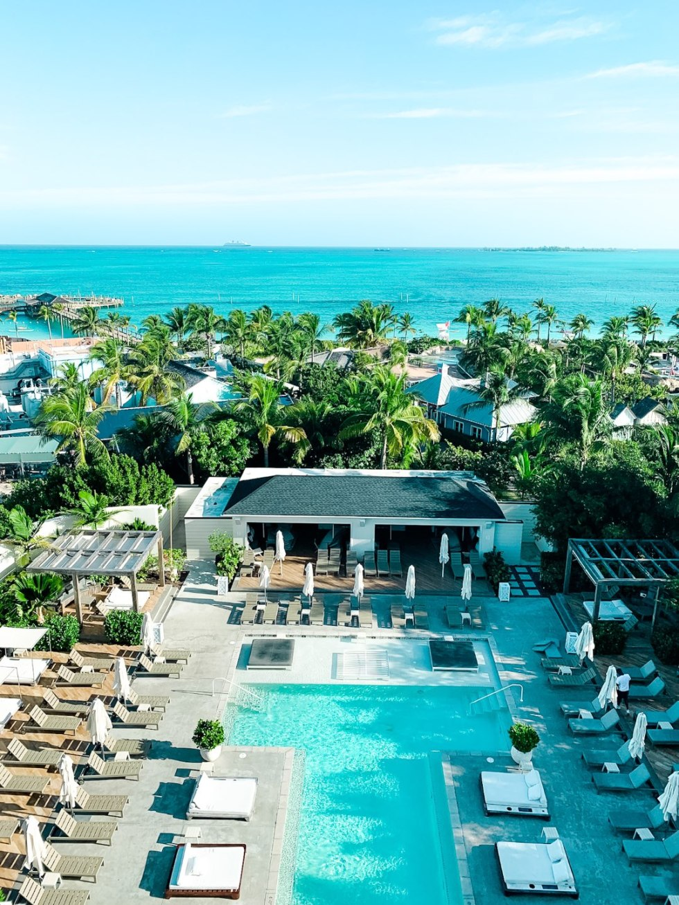 Warming Up in the Bahamas: the Best Things to Do at Baha Mar - I'm Fixin' To - @mbg0112 | Warming Up in the Bahamas: the Best Things to Do in Baha Mar by popular North Carolina travel blog, I'm Fixin' To: image of the Baha Mar swimming pool.