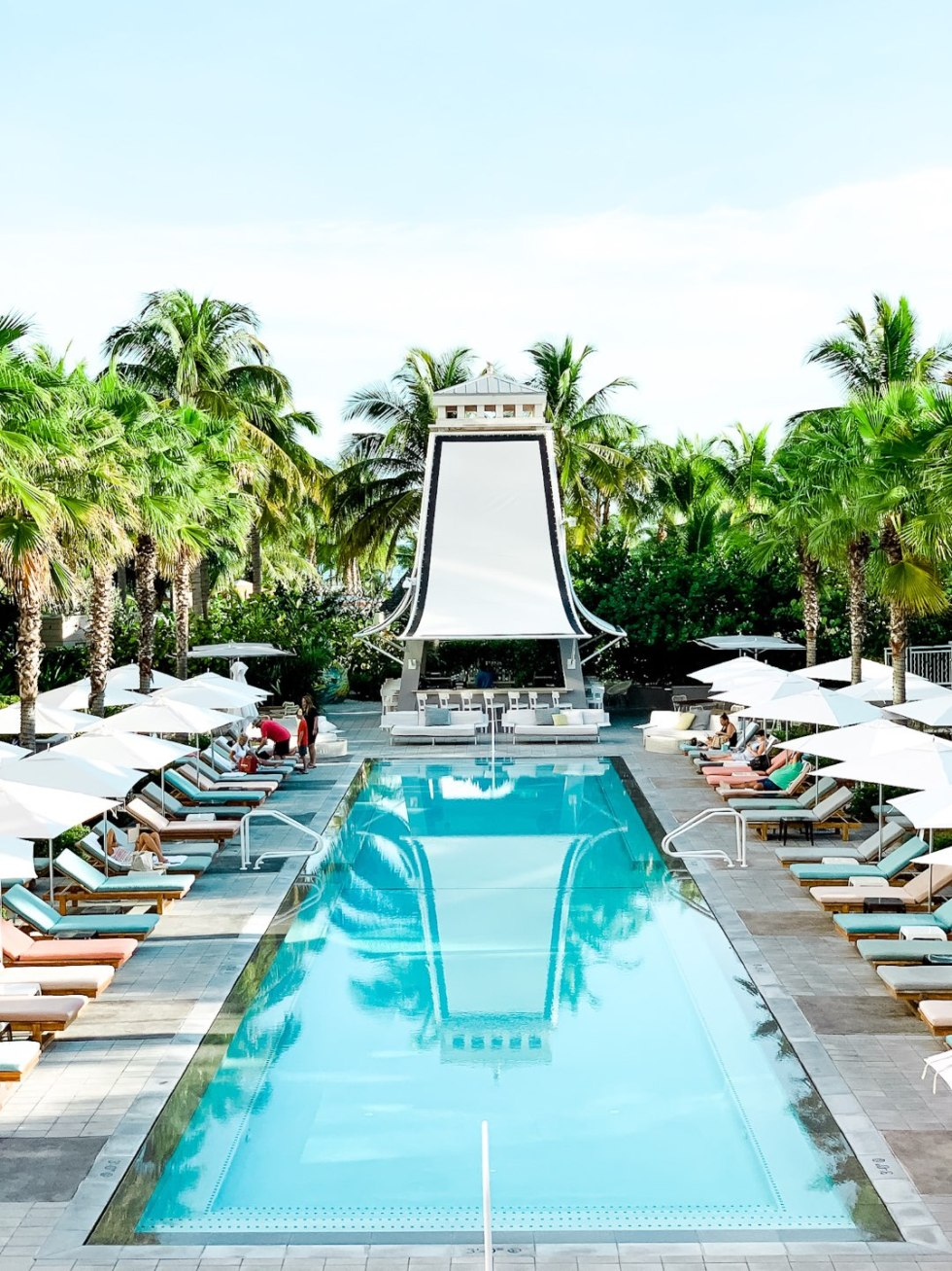 Warming Up in the Bahamas: the Best Things to Do at Baha Mar - I'm Fixin' To - @mbg0112 | Warming Up in the Bahamas: the Best Things to Do in Baha Mar by popular North Carolina travel blog, I'm Fixin' To: image of a Baha Mar swimming pool.