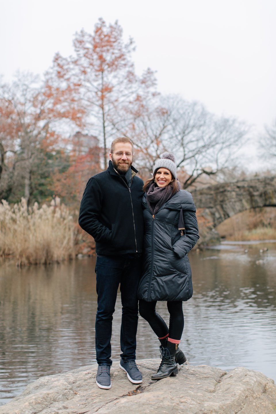Birthday Reflections: 32 Powerful Lessons I Learned in the Past Year - I'm Fixin' To - @mbg0112 | Birthday Reflections: 32 Powerful Lessons I Learned in the Past Year by popular North Carolina life and style blog, I'm Fixin' To: image of a couple in Central Park.