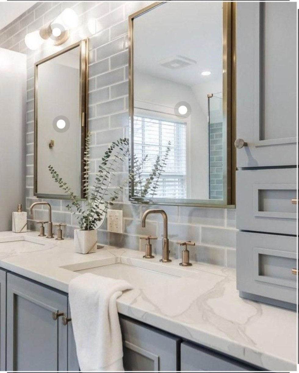 Inspiration Board Modern Guest Bathroom Ideas I M Fixin To