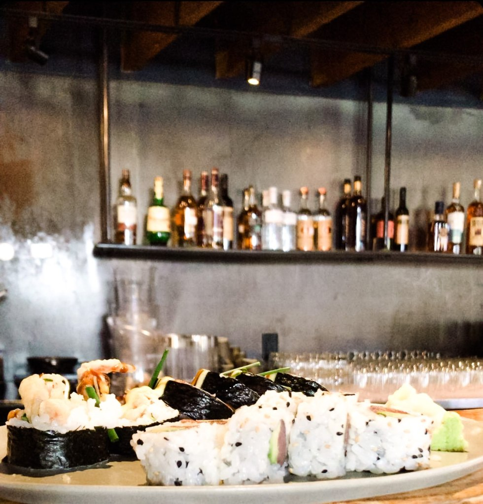 Durham Favorites: M Restaurants Review - I'm Fixin' To - @mbg0112 | M Restaurants in Durham by popular NC lifestyle blog, I'm Fixin To: image of food a M Sushi.