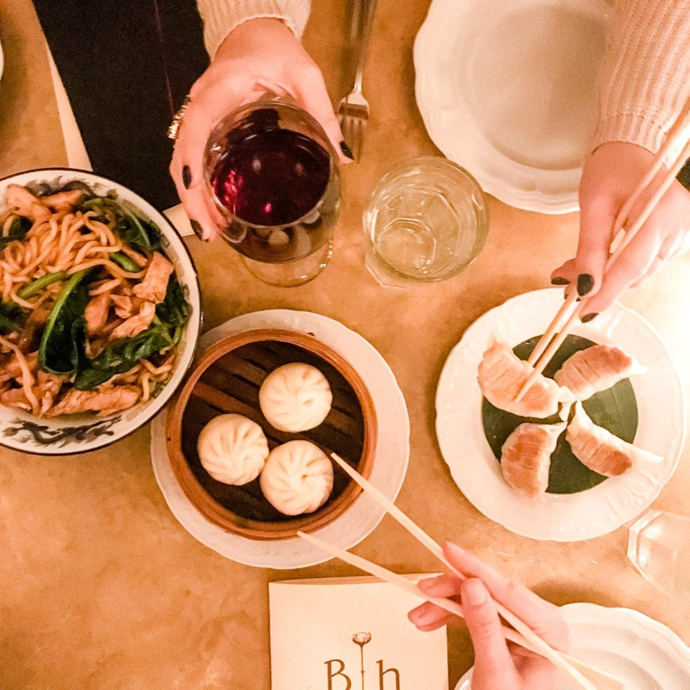 The 20 North Carolina Restaurants I Can't Wait to Visit after Quarantine - I'm Fixin' To - @mbg0112 | Best North Carolina Restaurants by popular N.C. blog, I'm Fixin' To: image of Dim Sum at the Brewery Bhavana restaurant.