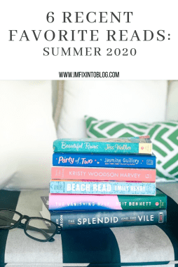 6 Recent Favorite Reads - I'm Fixin' To - @mbg0112