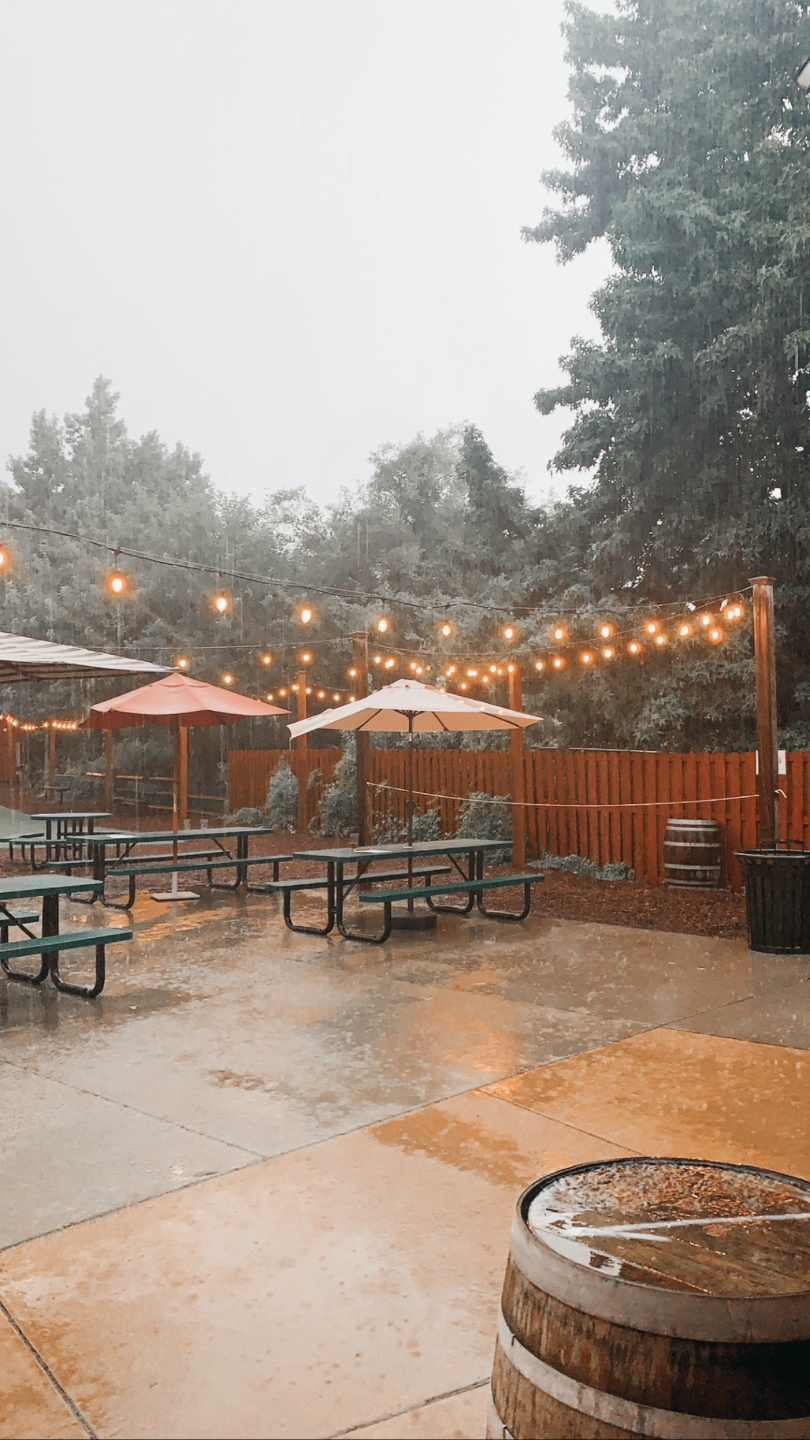 Weekend in Charlotte: Best Breweries and Places to Eat - I'm Fixin' To - @mbg0112 | Weekend in Charlotte by popular N.C. travel blog, I'm Fixin' To: image of the patio at NoDa Brewing Company.