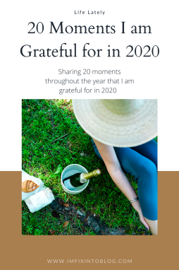 20 Moments I am Grateful for in 2020 - I'm Fixin' To - @imfixintoblog