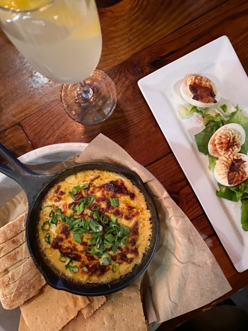 Things to do in Greenville NC by popular NC blog, I'm Fixin' To: image of food at Dickinson Avenue Public House.