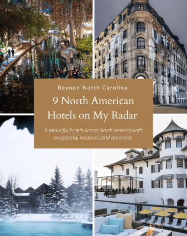 9 Hotels on My Radar - I'm Fixin' To - @imfixintoblog