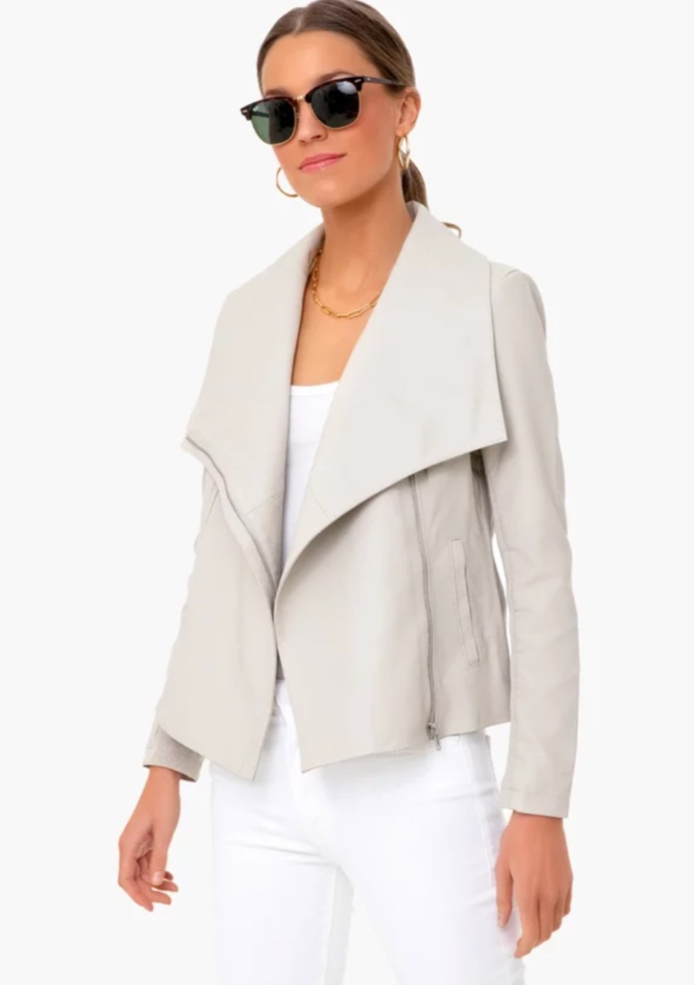 What I'm Eyeing for Early Spring - I'm Fixin' To - @imfixintoblog |Early Spring Fashion by popular NC fashion blog, I'm Fixin' To: image of a B.B. Dakota Bone Up to Speed Jacket.