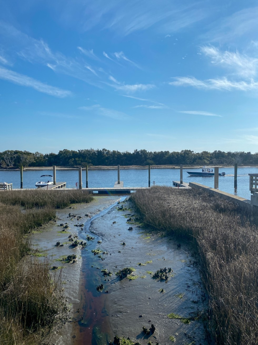 Weekend Travel: The Best Things to Do in Beaufort NC in 48 Hours - I'm Fixin' To - @imfixintoblog |Things to Do in Beaufort NC by popular NC travel blog, I'm Fixin' To: image of some boats on the water.