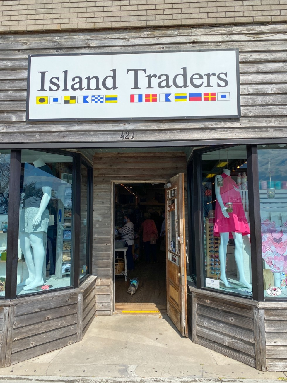 Things to Do in Beaufort NC by popular NC travel blog, I'm Fixin' To: image of Islands Trade.