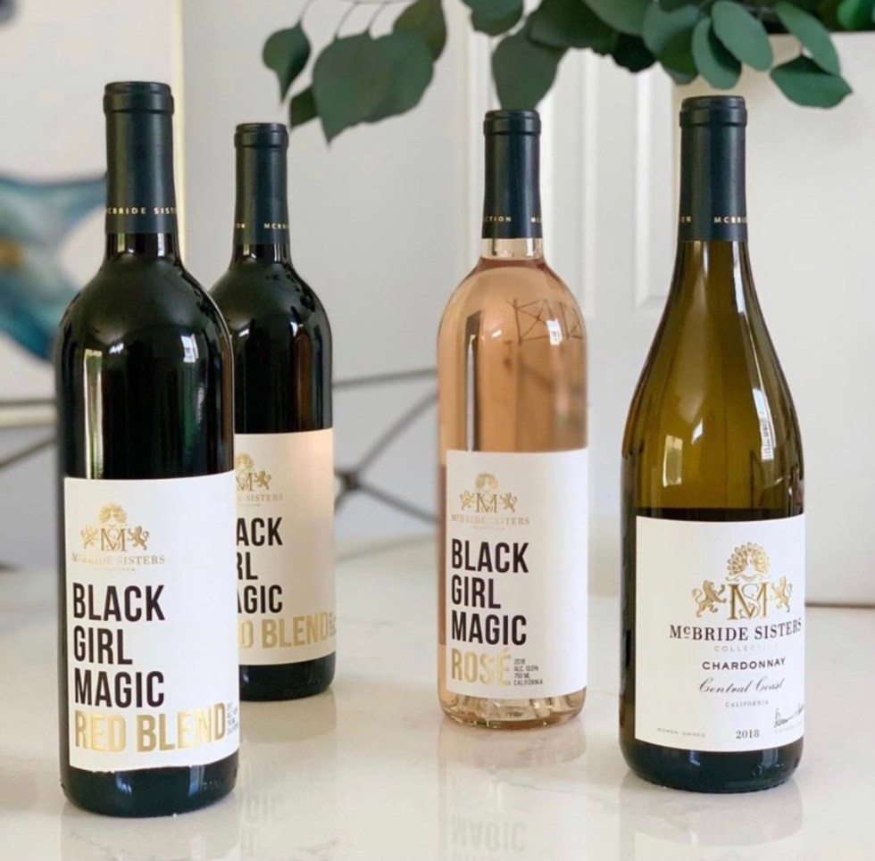 Women Owned Businesses by popular NC lifestyle blog, I'm Fixin' To: image of Black Girl Magic wine.