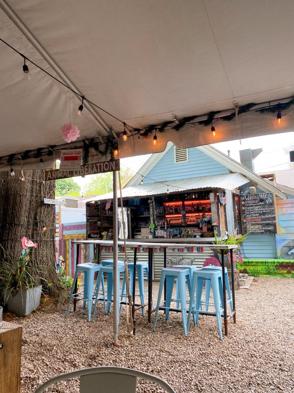 Top 7 Best Patios in Charlotte, NC featured by top NC lifestyle blogger, I'm Fixin' To: Oh My Soul