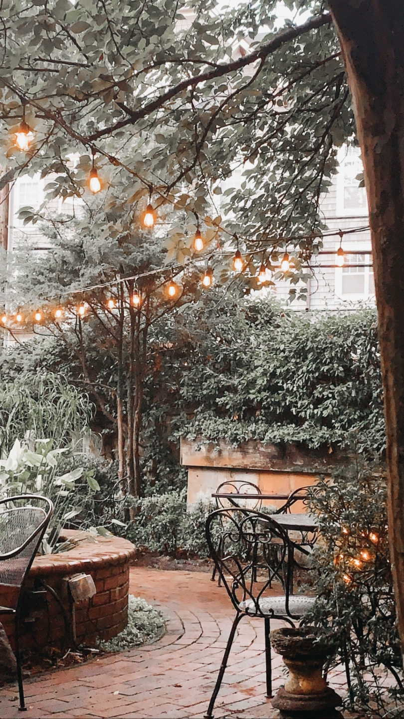 Top 7 Best Patios in Charlotte, NC featured by top NC lifestyle blogger, I'm Fixin' To: Dilworth Tasting Room