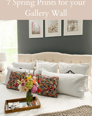 Home Decor: 7 Spring Prints for your Gallery Wall - I'm Fixin' To - @imfixintoblog