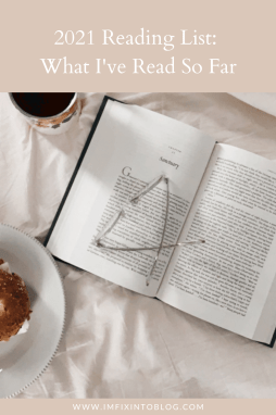 2021 Reading List: What I've Read So Far - I'm Fixin' To - @imfixintoblog