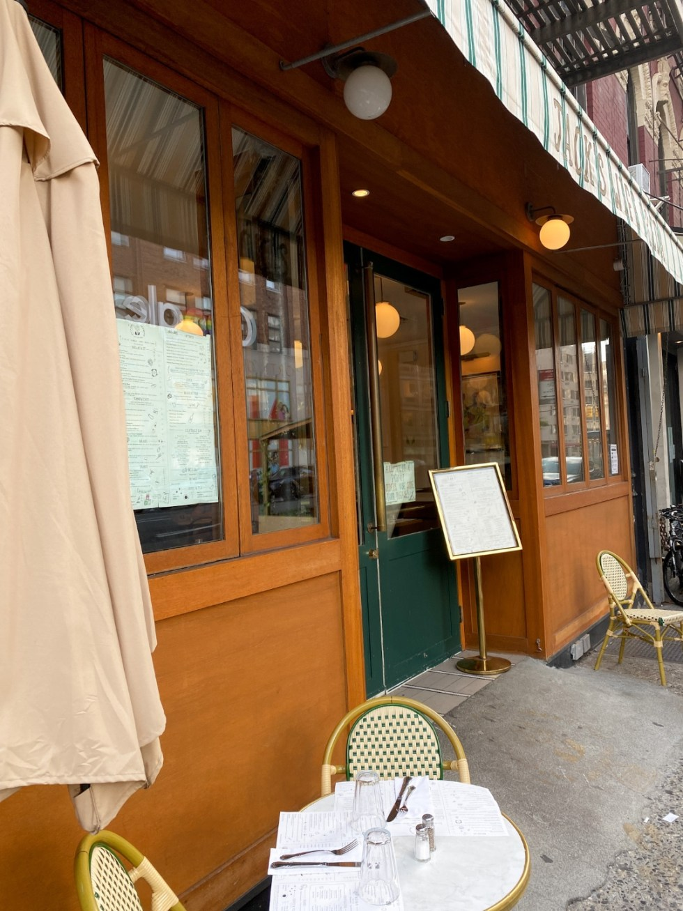 NYC Summer Weekend: Things to Do in NYC in the Summer - I'm Fixin' To - @imfixintoblog   NYC Summer Weekend by popular NC travel blog, I'm Fixin' To: image of Jack's Wife Freda restaurant.