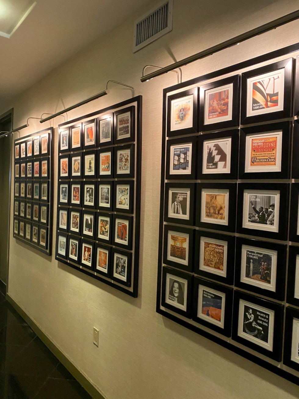 NYC Summer Weekend: Things to Do in NYC in the Summer - I'm Fixin' To - @imfixintoblog   NYC Summer Weekend by popular NC travel blog, I'm Fixin' To: image of framed vintage prints.