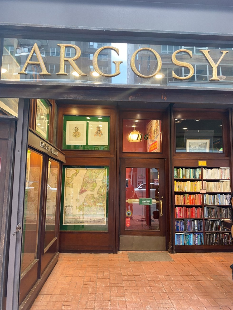 NYC Summer Weekend: Things to Do in NYC in the Summer - I'm Fixin' To - @imfixintoblog   NYC Summer Weekend by popular NC travel blog, I'm Fixin' To: image of the Argosy book store.