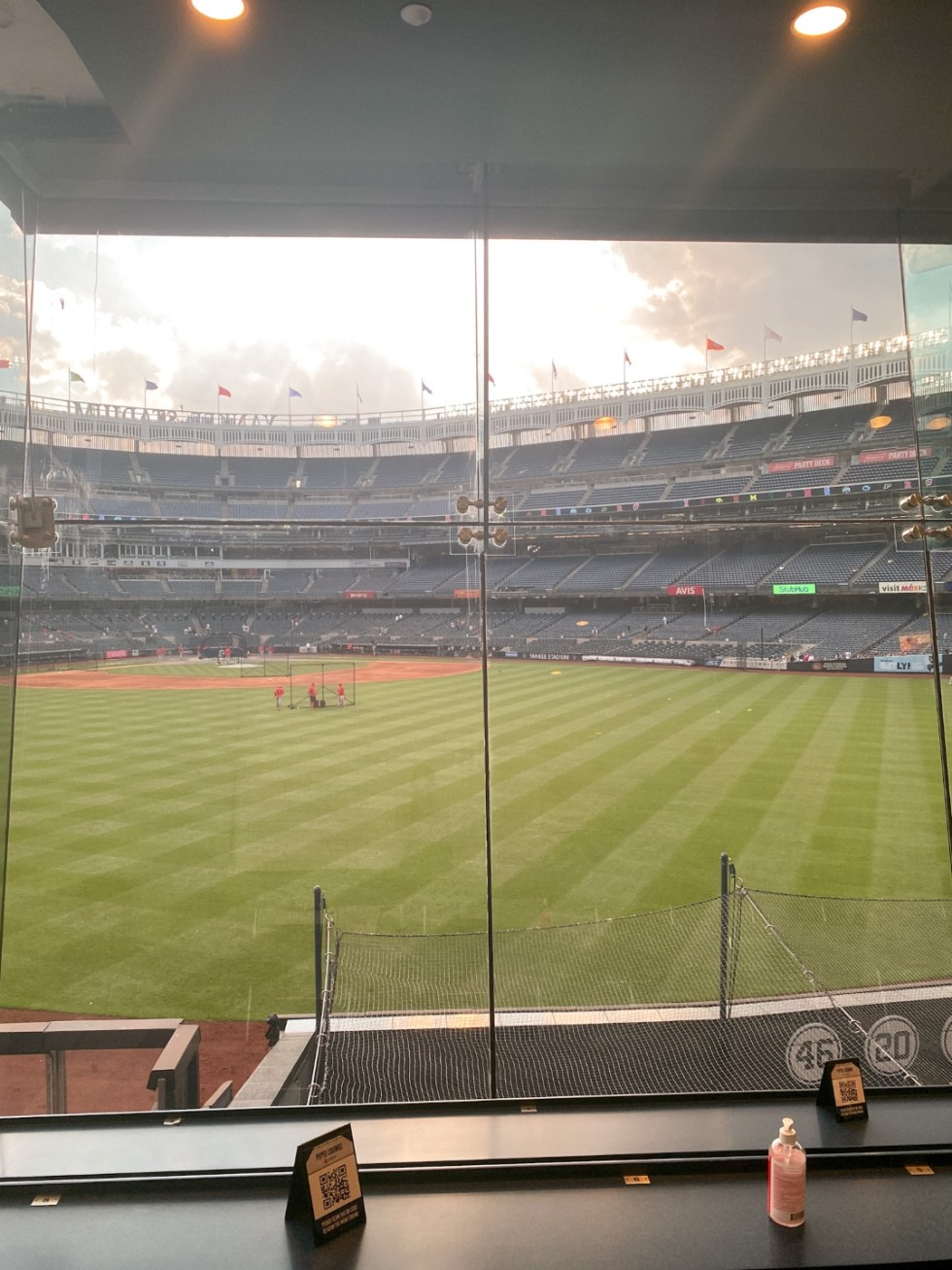 NYC Summer Weekend: Things to Do in NYC in the Summer - I'm Fixin' To - @imfixintoblog   NYC Summer Weekend by popular NC travel blog, I'm Fixin' To: image of Yankee Stadium.