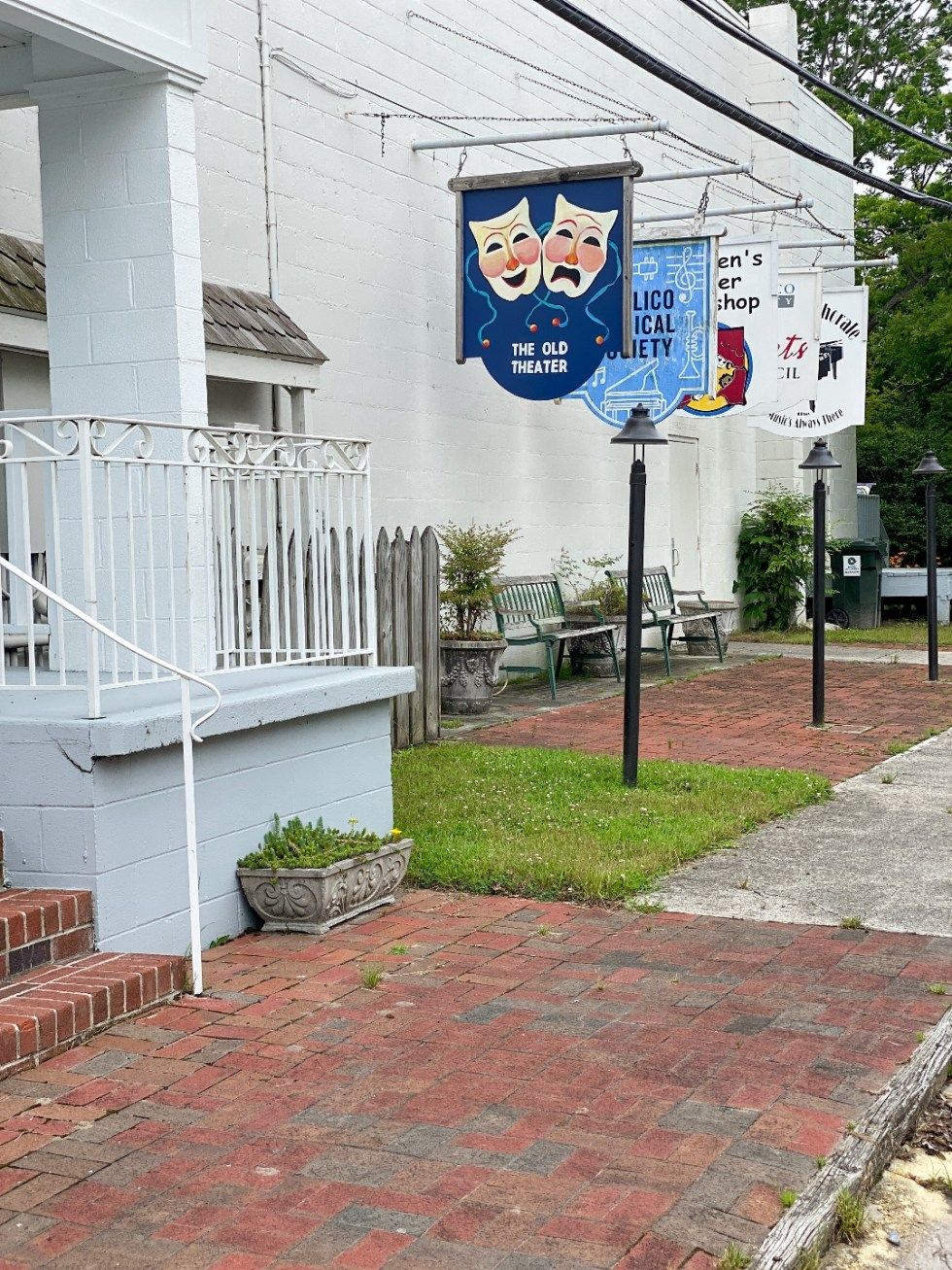 What to Do in Oriental, NC - I'm Fixin' To - @imfixintoblog | Things to do in Oriental NC by popular NC travel blog, I'm Fixin' To: image of the Old Theater.