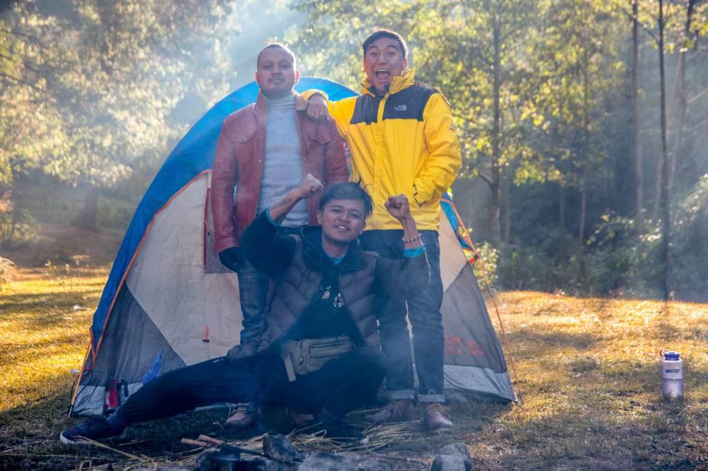 Happy Camping at Nagarkot Damsite, Bojini Dam | Imfreee