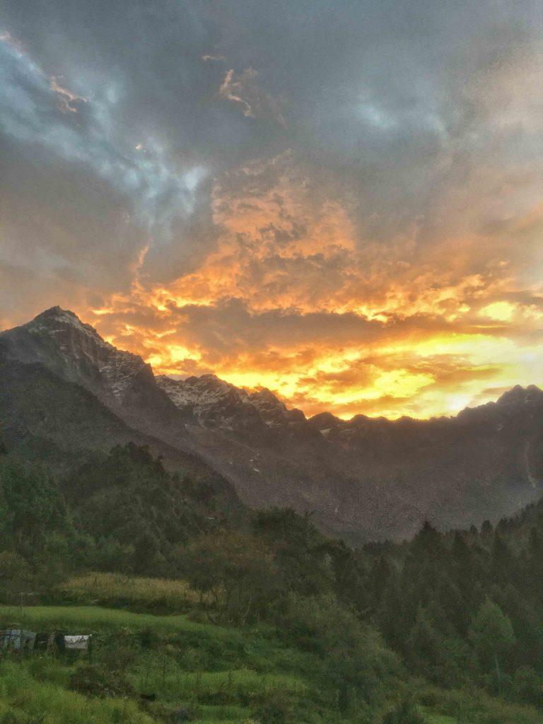 Morning View from Hadi Khola