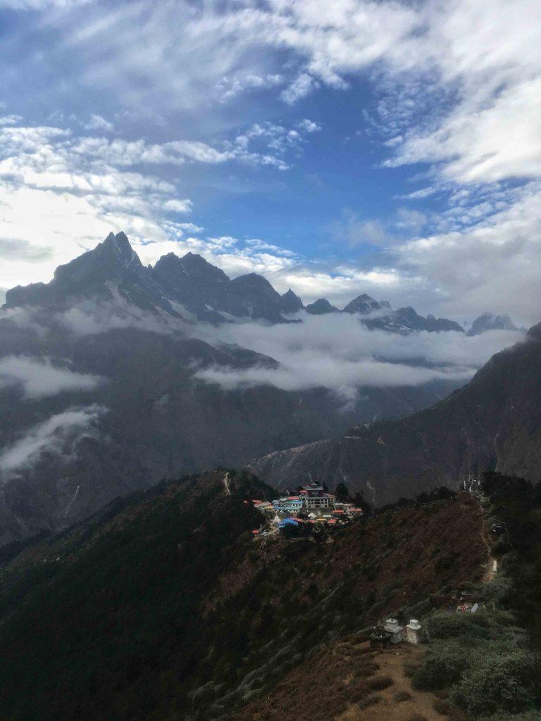 Tengbochey Monastery top View