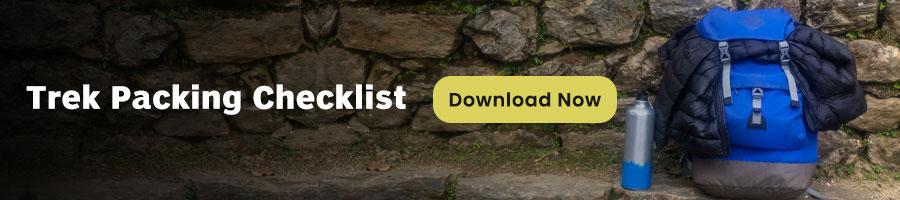 Trek Packing Checklist Imfreee