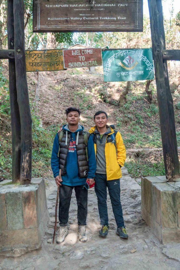 End of Budhanilkantha - Sundarijal Hike || Imfreee