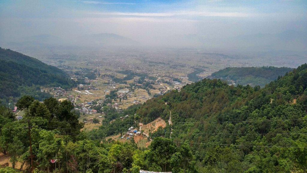 From the Top of Lakuri Bhanjyang, Nepal