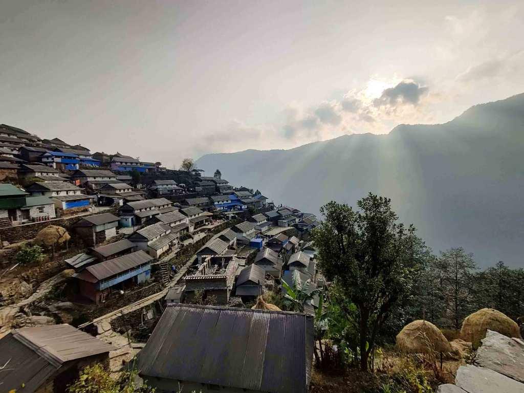 Bhujung Village, Lamjung, Nepal