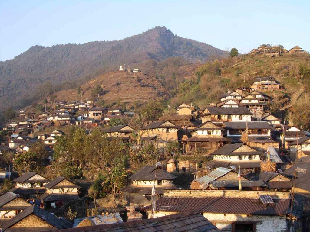 Pasgaun Village Lamjung Nepal