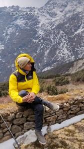 Rest near Phedi - Gosaikunda Helambu Trek Nepal