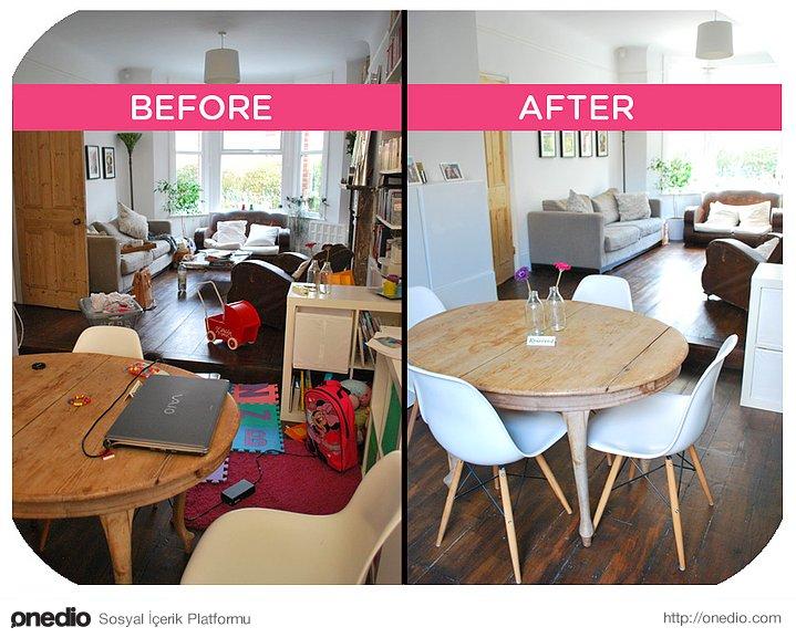 Son 4 maddeyi, evinizin diğer alanları için de yapın.