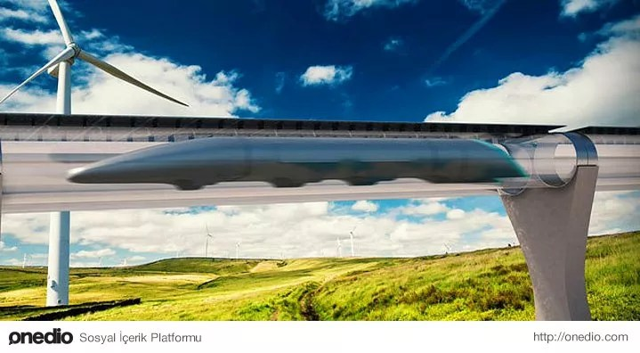 Ülkeler arasındaki ulaşımın, Hyperloop ve ET3'ten esinlenerek yapılan tüplü ulaşım araçlarıyla yapılması için proje başlatılacak.