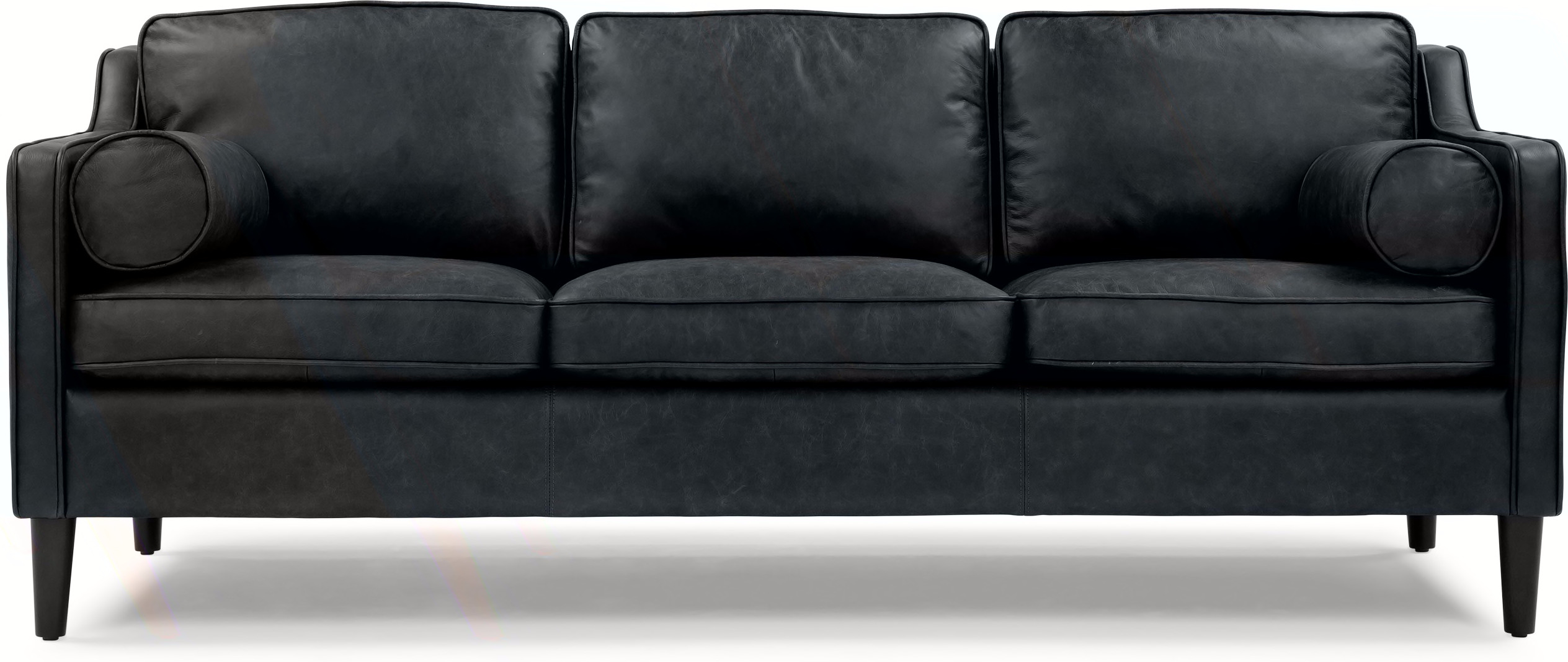 cheap three seater sofa flexsteel capitol power buy 3 black leather compare sofas