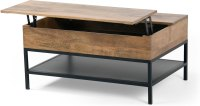Black wood coffee table | Shop for cheap Furniture and ...
