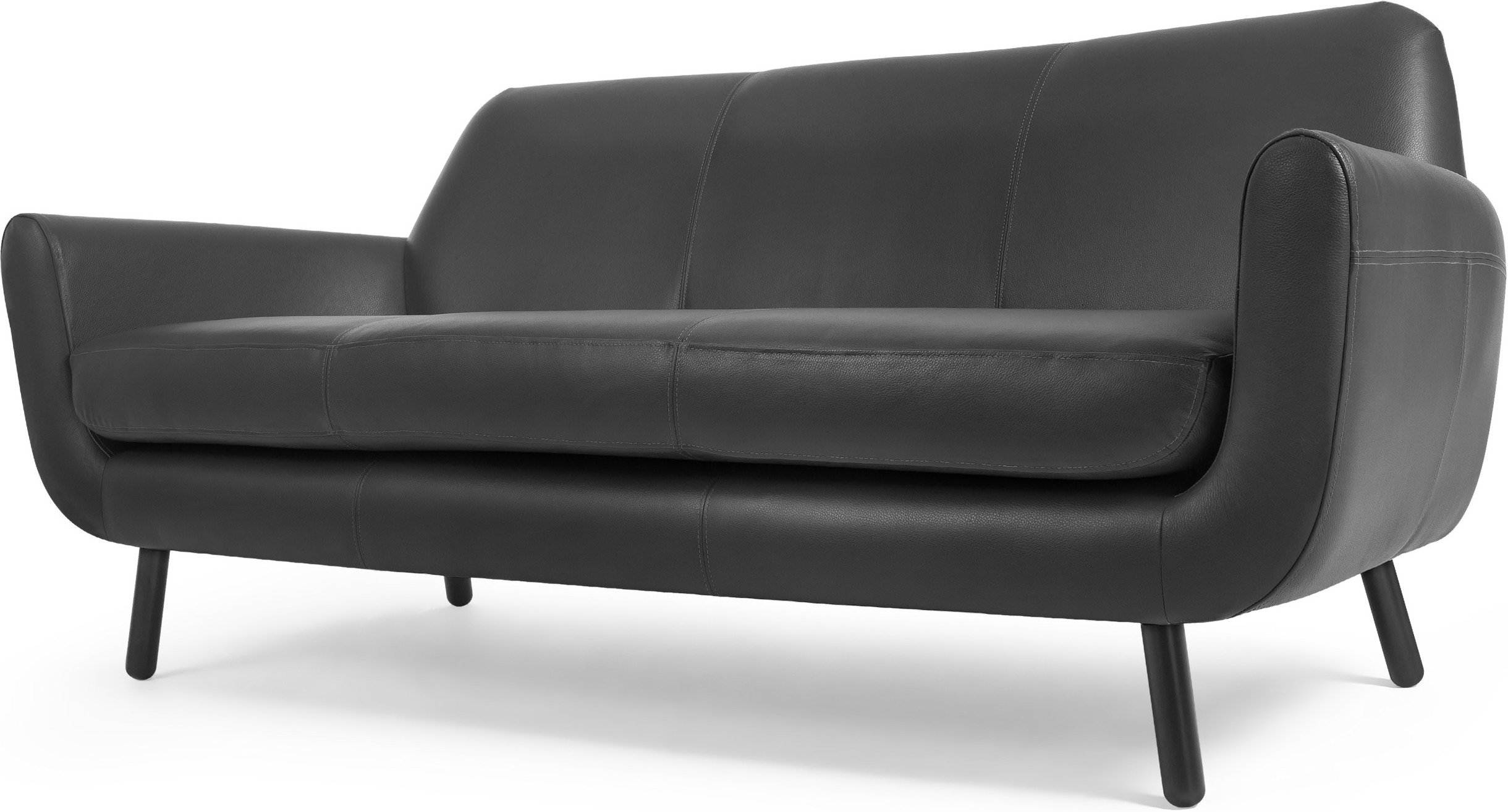 3 seater black leather sofa 2 hand beds buy cheap compare sofas