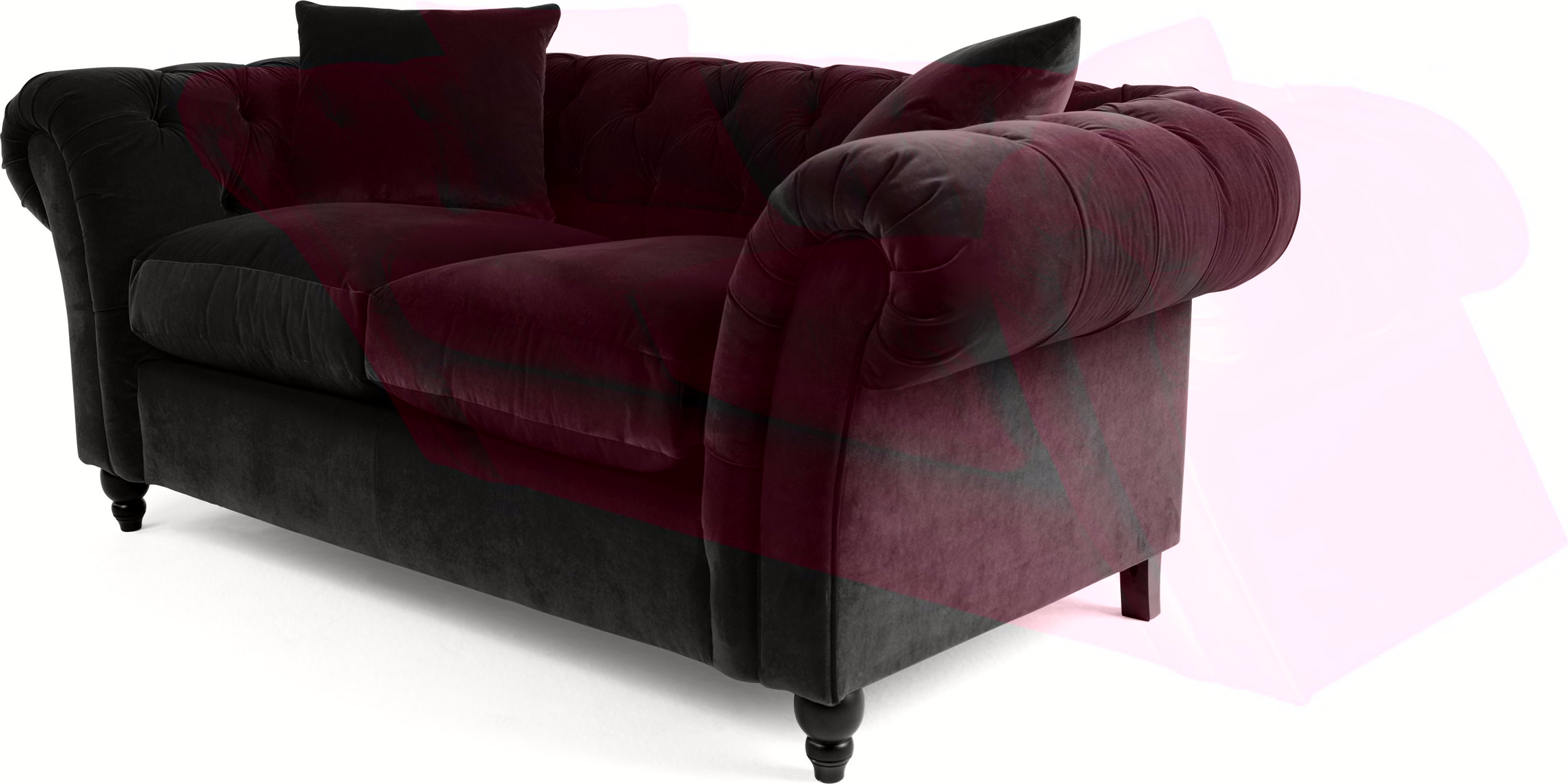 velvet sofas cheap bar table behind sofa chesterfield shop for and save