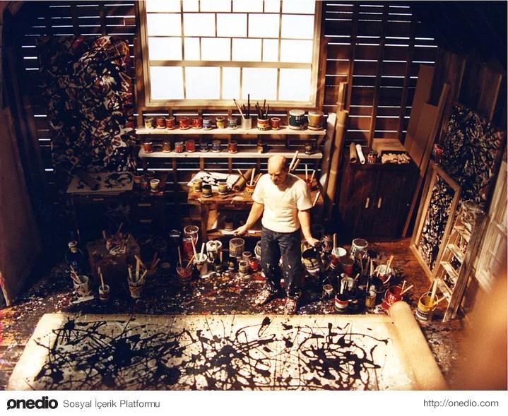 13. Jackson Pollock